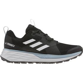 adidas TERREX Two Løbesko Damer, core black/footwear white/ash grey